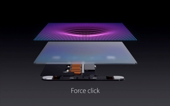 Apple Keynote - MacBook Force Touch