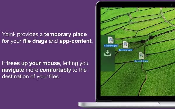 New Mac App Store Screenshot of Yoink