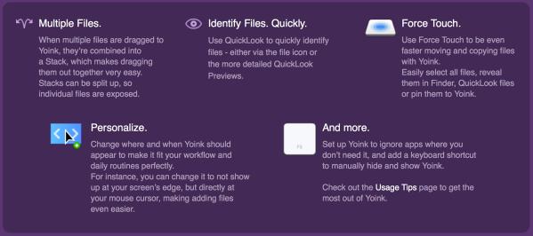 Yoink Website Box