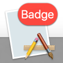 An app icon badged with 'Badge'