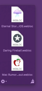 Yoink loading favicons for webloc files